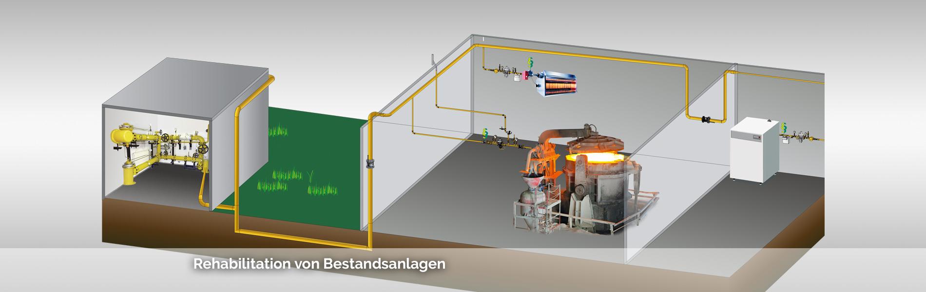 Anlagenbau und Ausrüstung