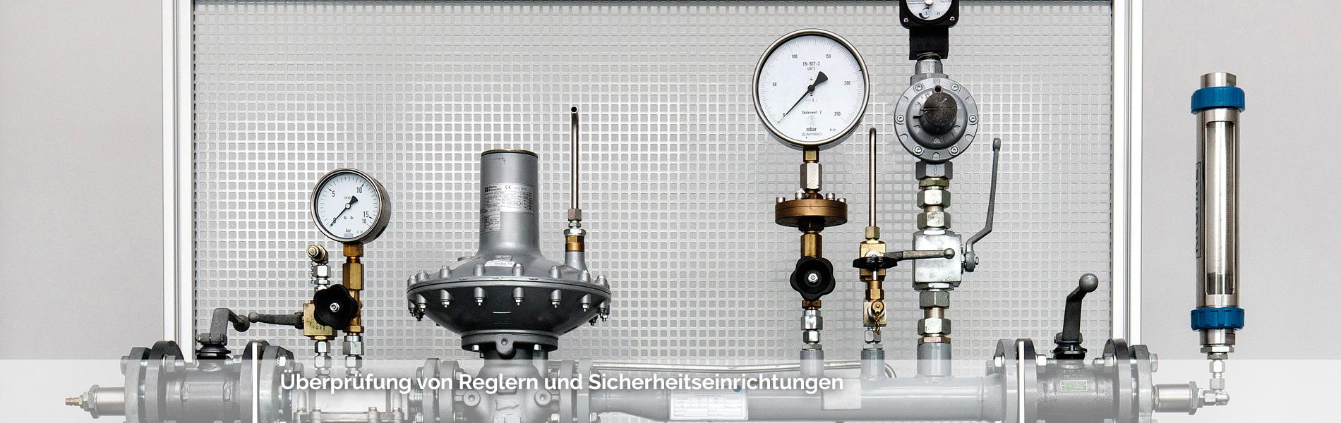 Gasdruckregelung