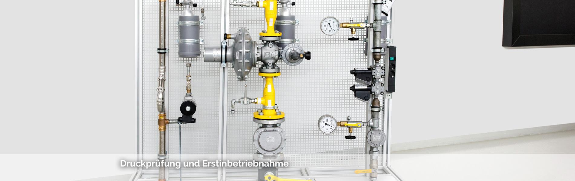 Tätigkeiten an freiverlegten Gasleitungen