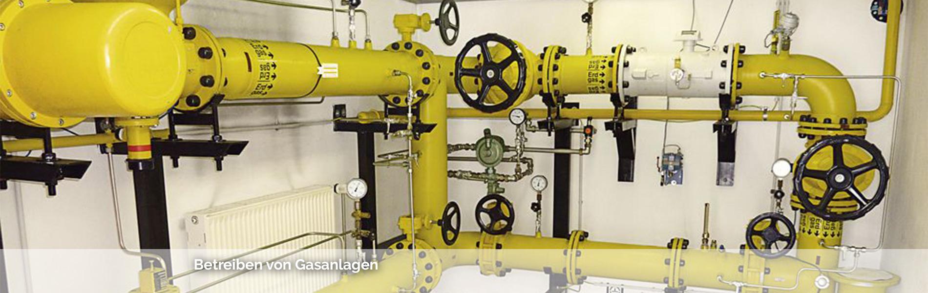 Betreiben von Gasanlagen